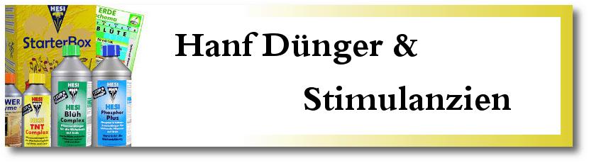 Hanf Dünger & Stimulanzien