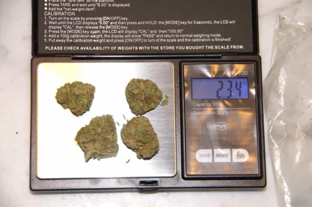 Cannabis Waage
