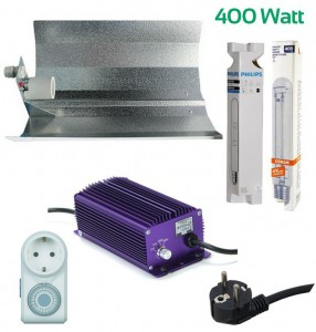 Beleuchtungsset 400W (Top Preis-Leistung) Komplettset Grow Einsteiger