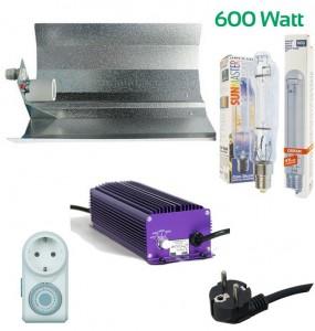 Beleuchtungsset 600W (Top Preis-Leistung) Komplettset Grow Einsteiger