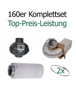 """Belüftungs-Set 160 Komplettset """"Top-Preis-Leistung"""""""