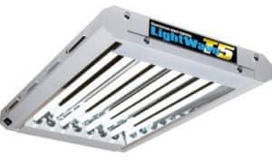 Lightwave T5 Stecklingsbeleuchtung 96W (4x 24W Leuchtstoffröhren)